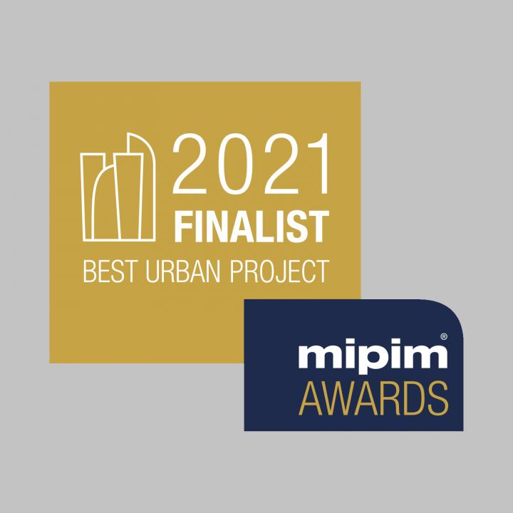 MIPIM Finalist branding